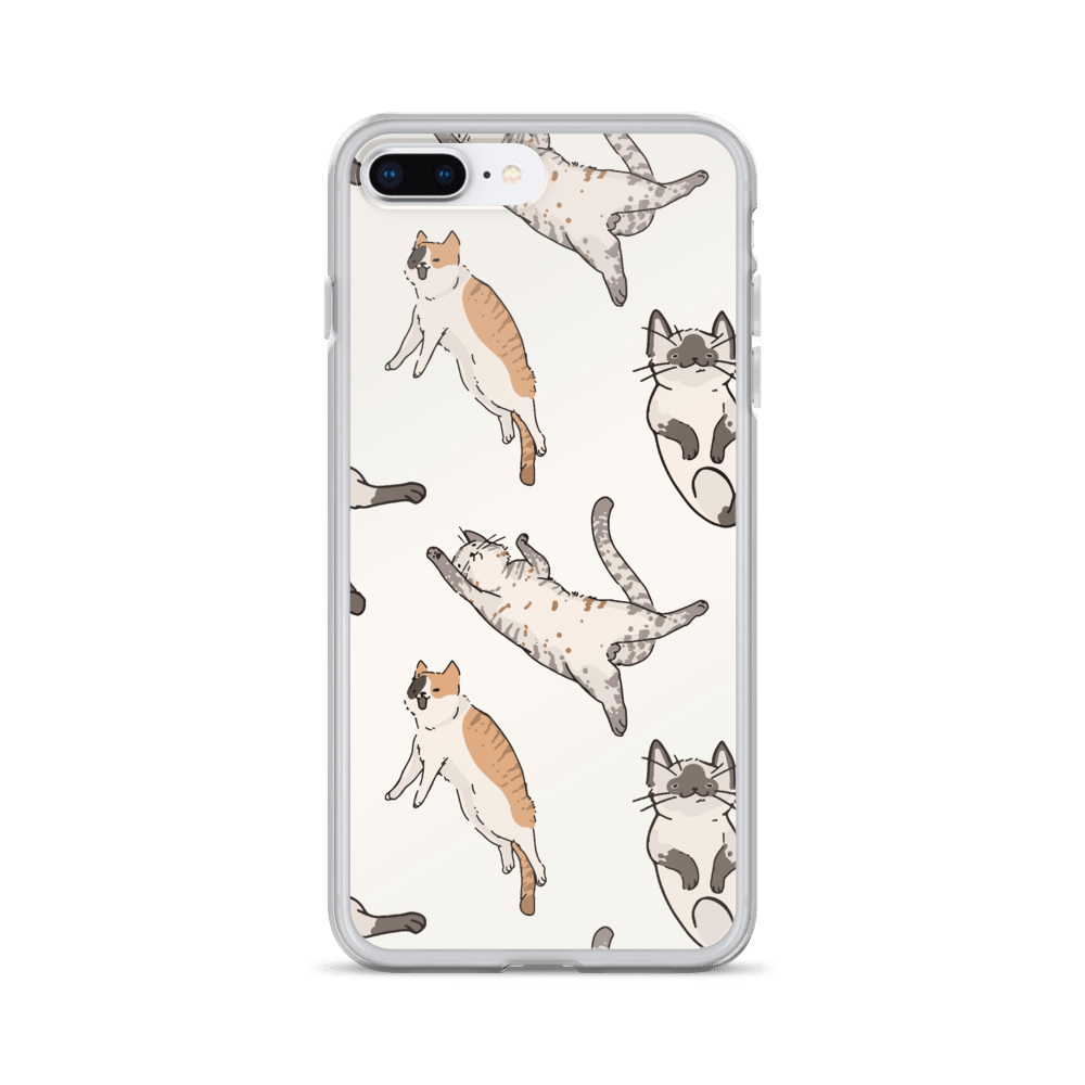 Decal Kings iPhone 7 Plus/8 Plus It's Raining Cats! iPhone Case