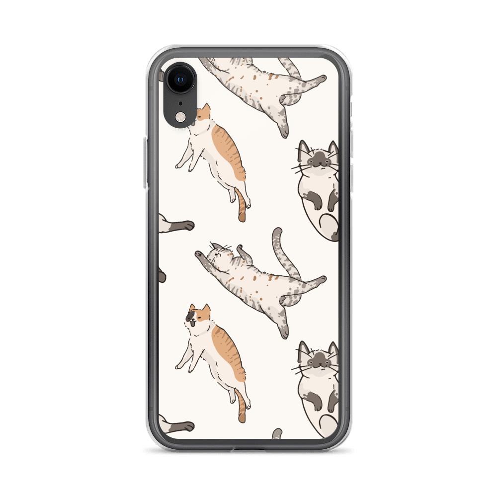 Decal Kings iPhone XR It's Raining Cats! iPhone Case