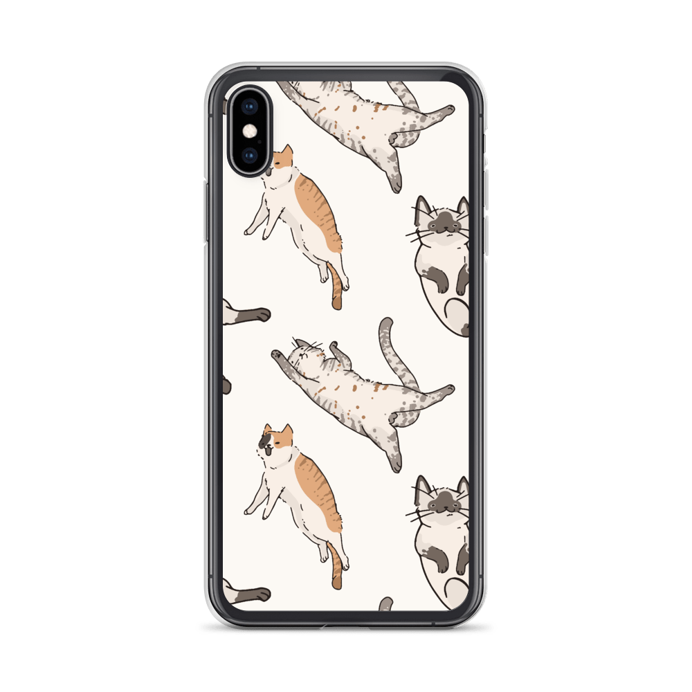 Decal Kings iPhone XS Max It's Raining Cats! iPhone Case