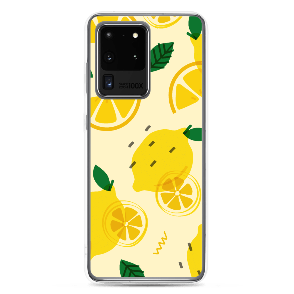 Decal Kings Samsung Galaxy S20 Ultra Lemon sSamsung Case