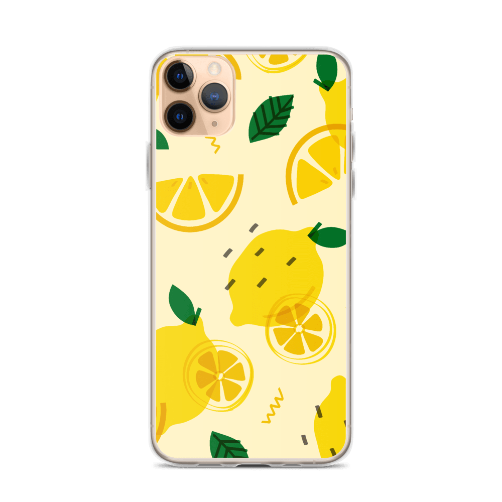Decal Kings iPhone 11 Pro Max Lemons iPhone Case
