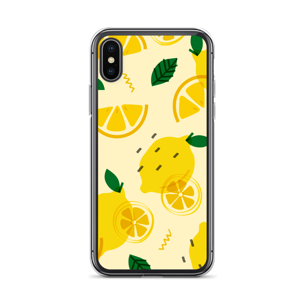 Decal Kings iPhone X/XS Lemons iPhone Case