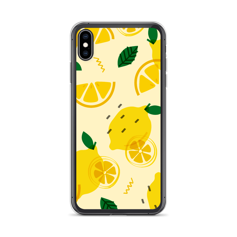 Decal Kings iPhone XS Max Lemons iPhone Case