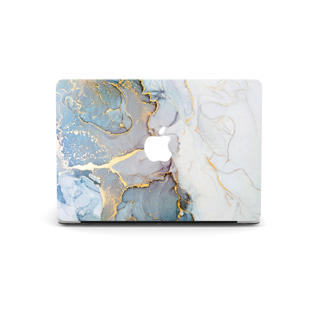 Decal Kings Apple MacBook Skin Light Blue Smoky Marble MacBook Skin