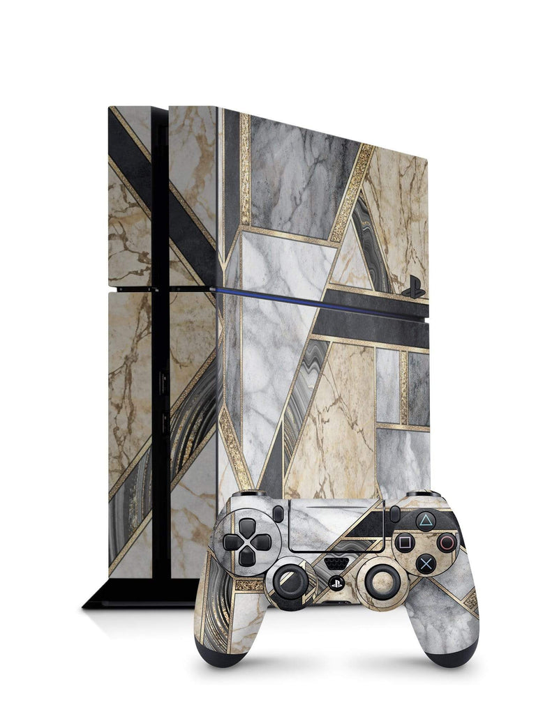 Decal Kings PlayStation 4 Skin PlayStation 4 / Console + Controllers Mosaic Marble PS4 Skin