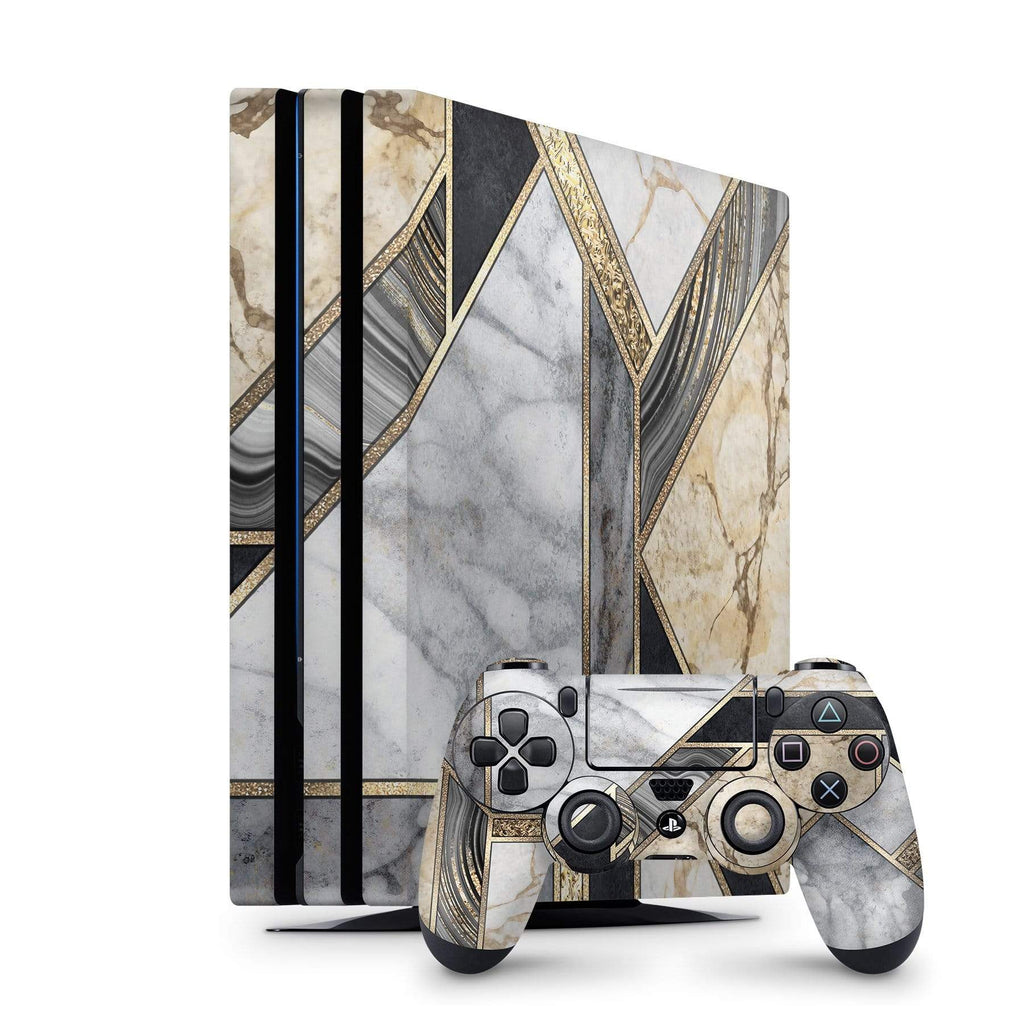 Decal Kings PlayStation 4 Skin PlayStation 4 Pro / Console + Controllers Mosaic Marble PS4 Skin