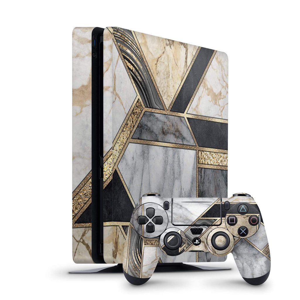 Decal Kings PlayStation 4 Skin PlayStation 4 Slim / Console + Controllers Mosaic Marble PS4 Skin