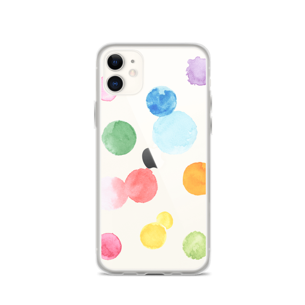 Decal Kings iPhone Case iPhone 11 Paint Drops iPhone Case