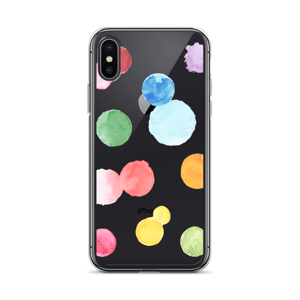 Decal Kings iPhone Case iPhone X/XS Paint Drops iPhone Case