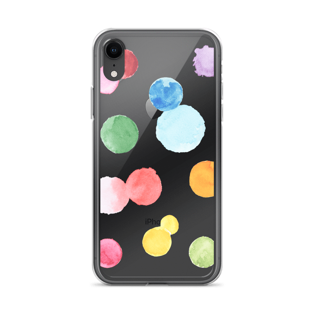 Decal Kings iPhone Case iPhone XR Paint Drops iPhone Case