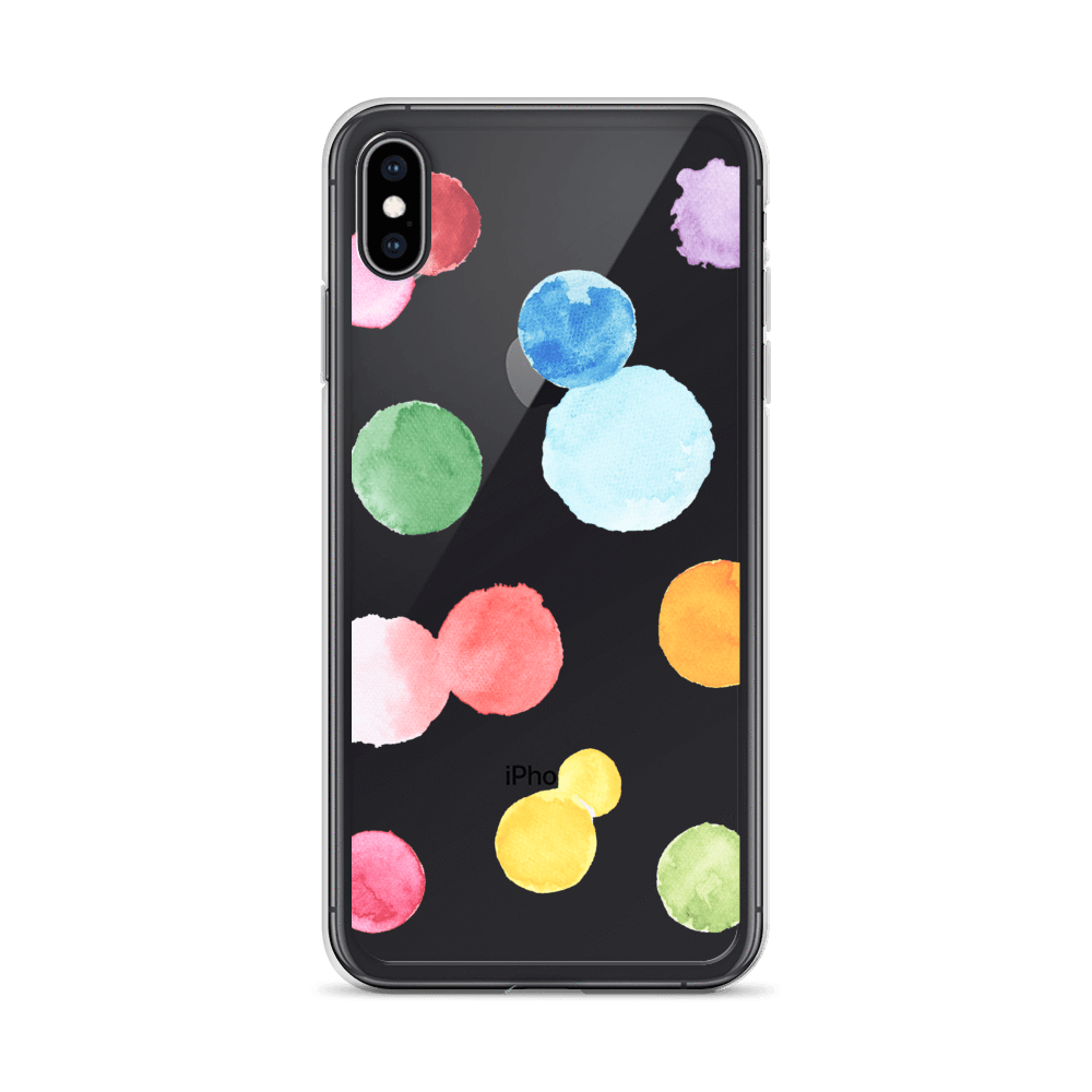 Decal Kings iPhone Case iPhone XS Max Paint Drops iPhone Case