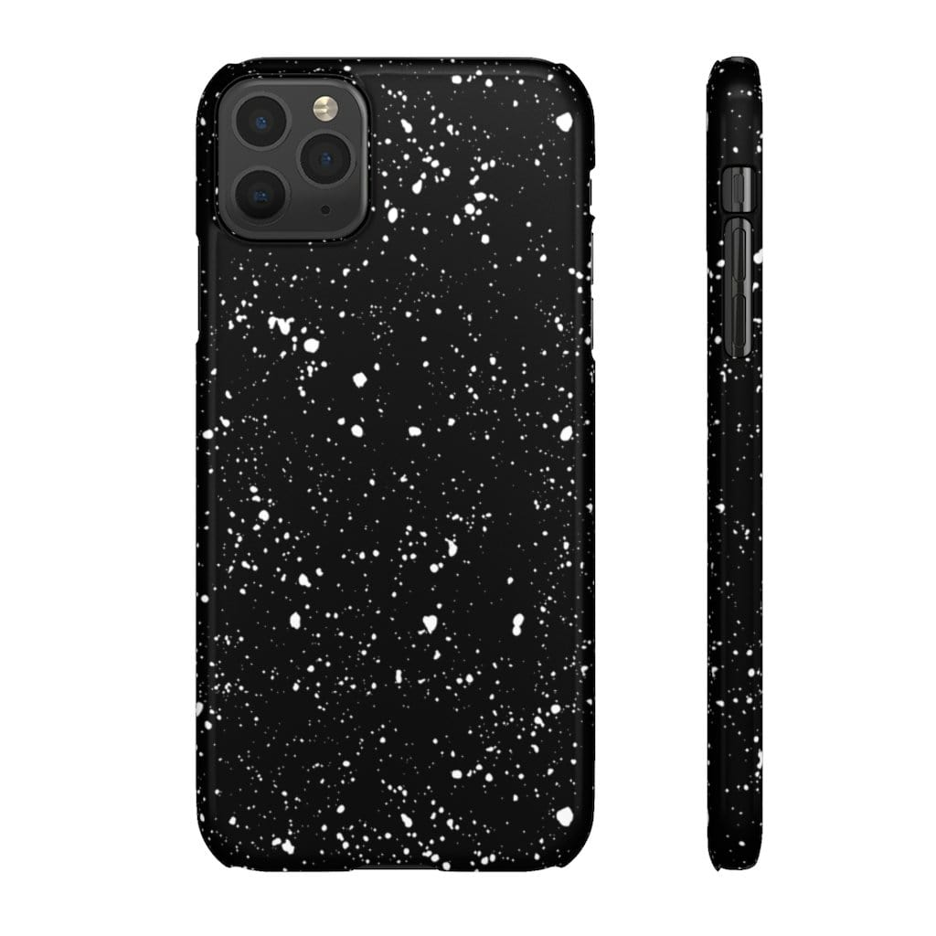Printify Phone Case iPhone 11 Pro Max / Glossy Paint Drops IPhone Snap Case
