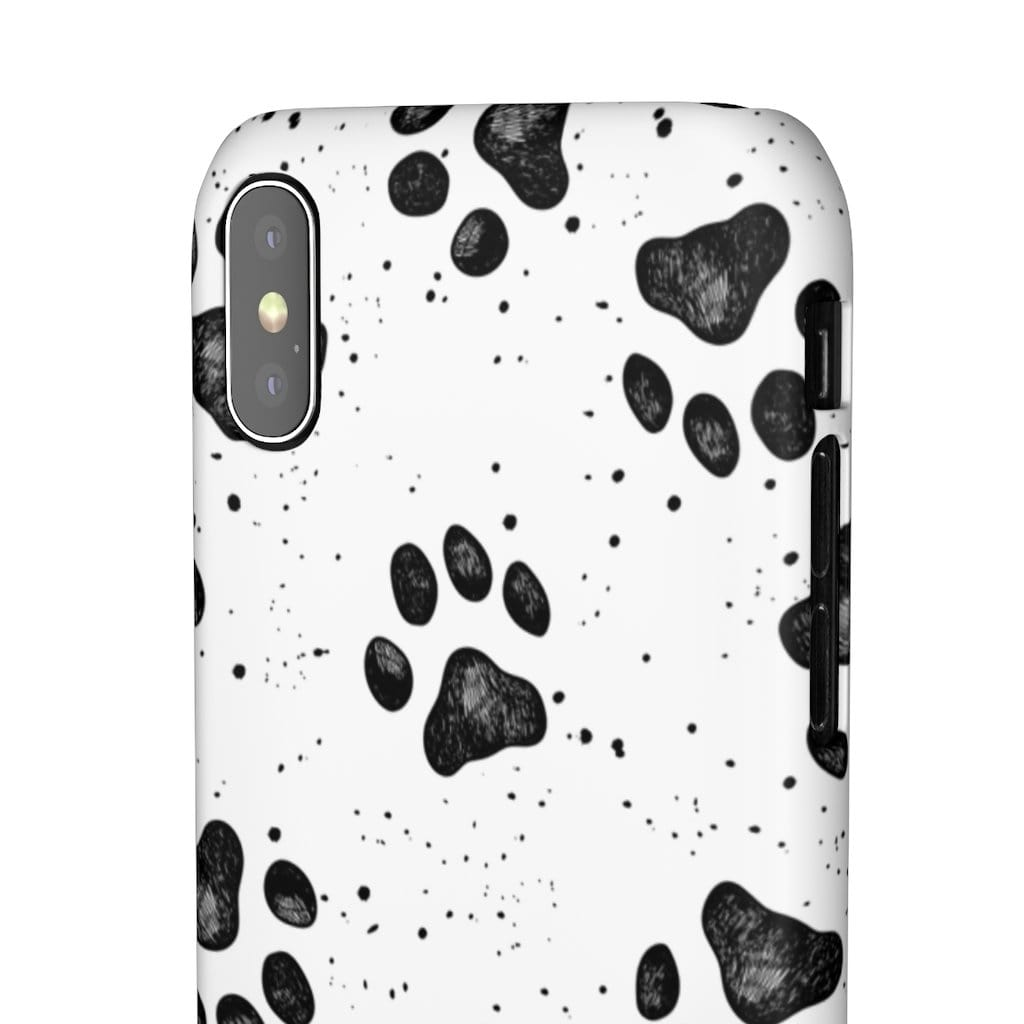 Printify Phone Case Paws IPhone Snap Case