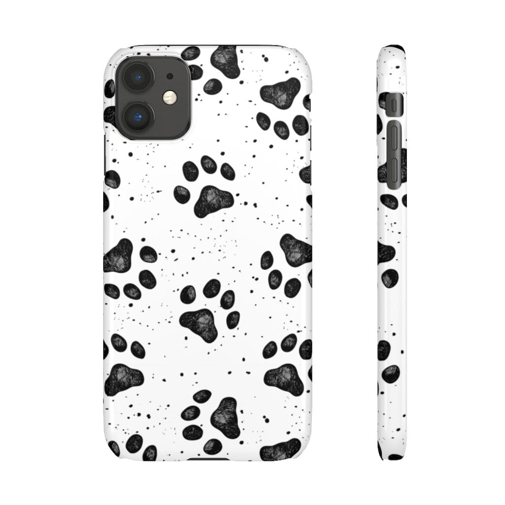Printify Phone Case iPhone 11 / Glossy Paws IPhone Snap Case