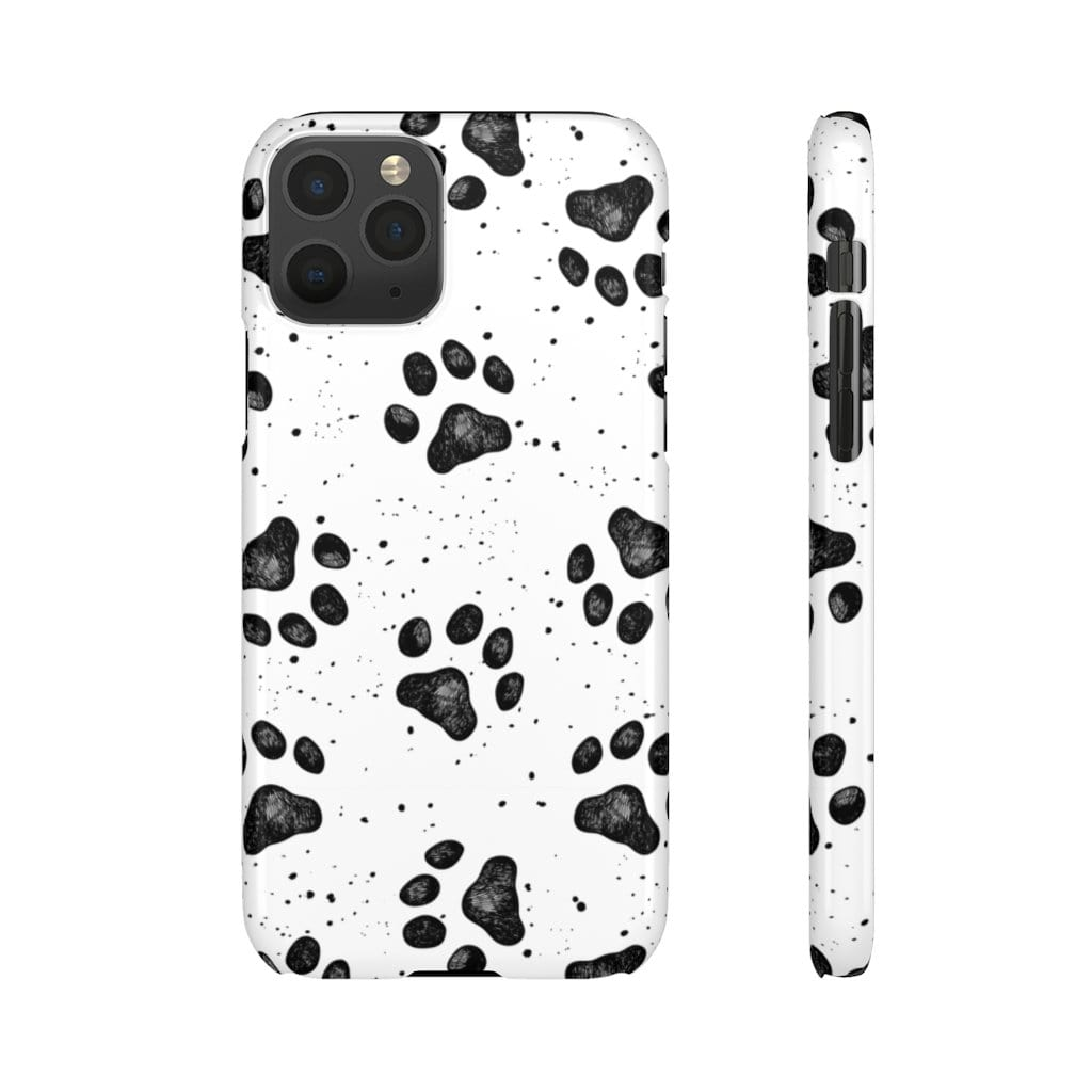 Printify Phone Case iPhone 11 Pro / Glossy Paws IPhone Snap Case