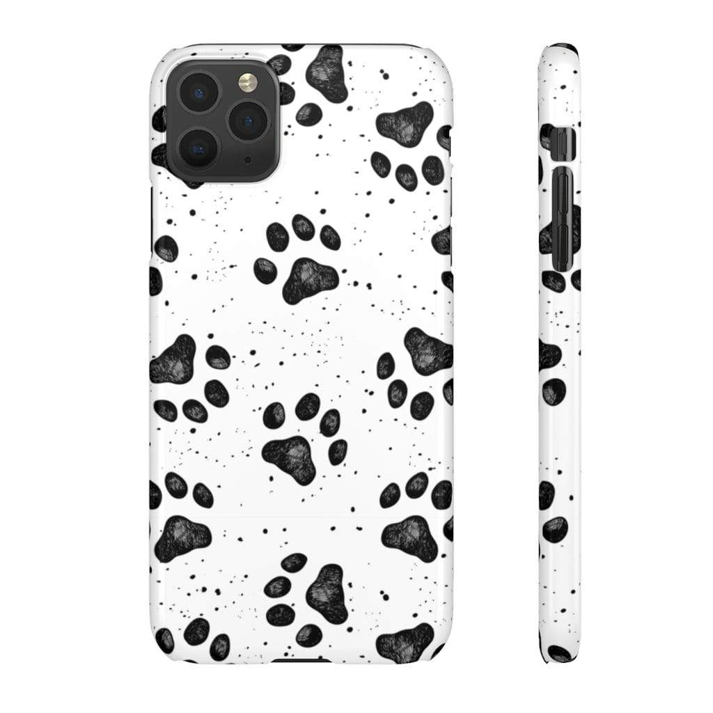 Printify Phone Case iPhone 11 Pro Max / Glossy Paws IPhone Snap Case