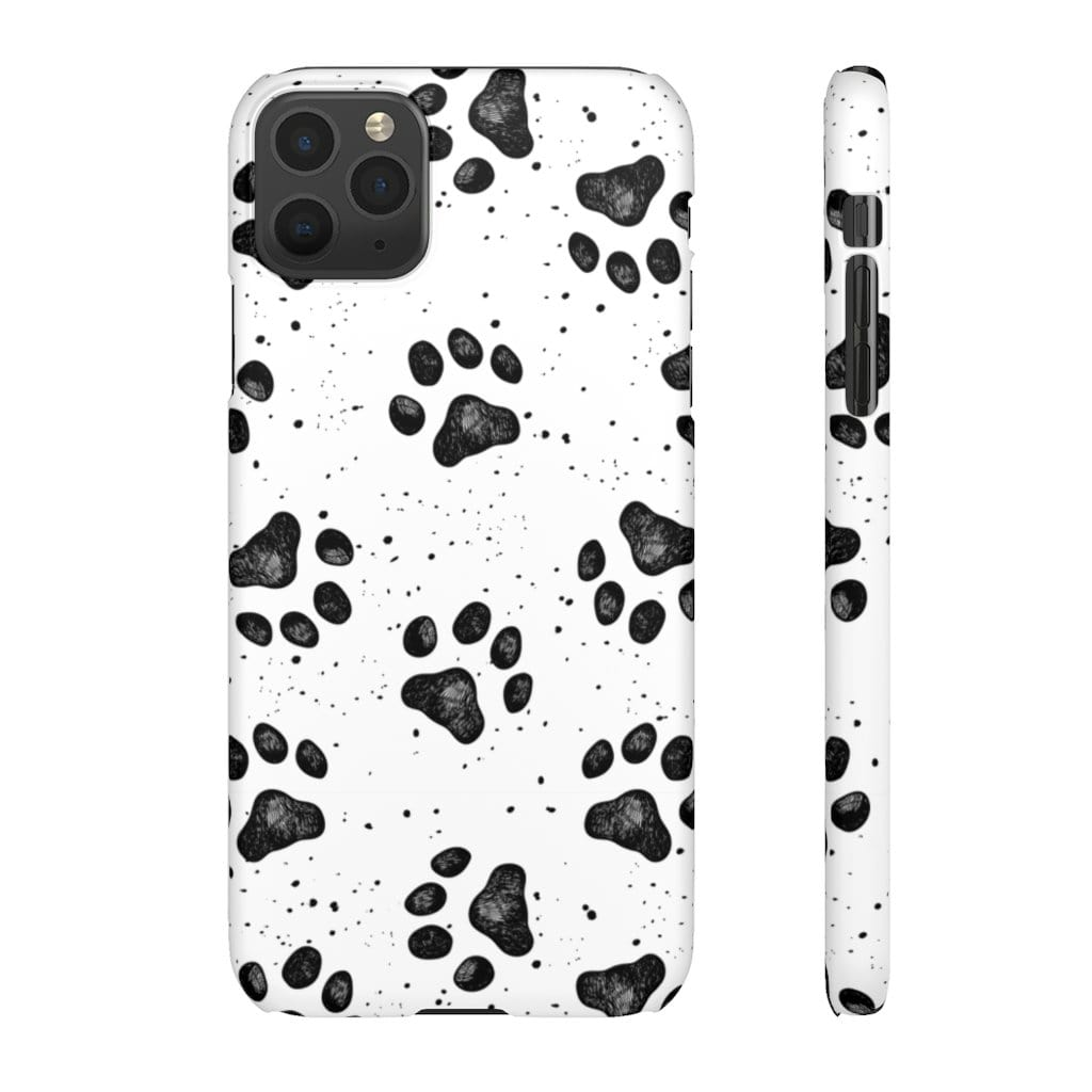 Printify Phone Case iPhone 11 Pro Max / Matte Paws IPhone Snap Case