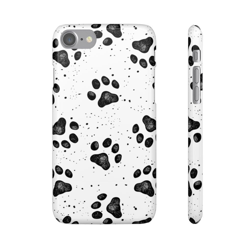 Printify Phone Case iPhone 7 / Glossy Paws IPhone Snap Case
