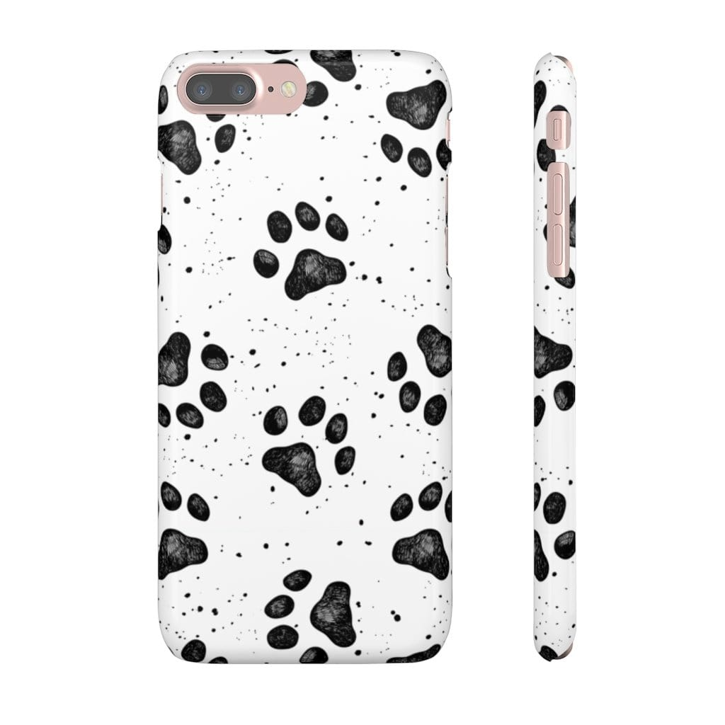 Printify Phone Case iPhone 7 Plus / Glossy Paws IPhone Snap Case