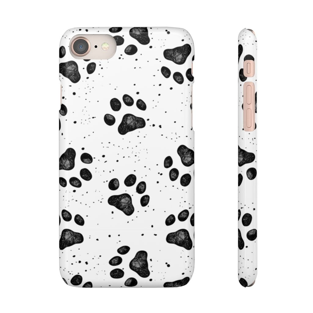 Printify Phone Case iPhone 8 / Glossy Paws IPhone Snap Case