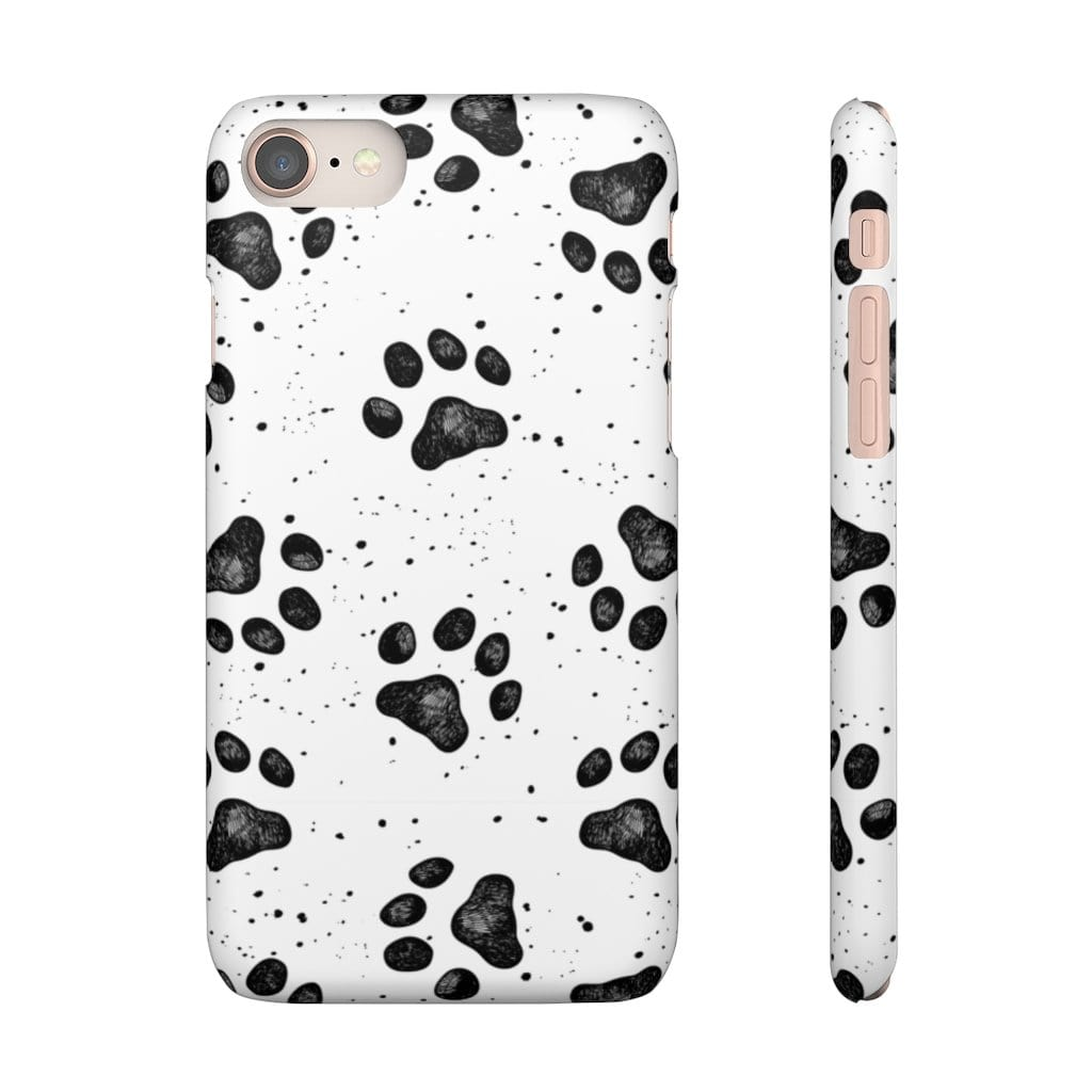 Printify Phone Case iPhone 8 / Matte Paws IPhone Snap Case
