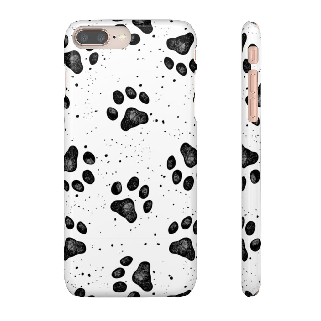 Printify Phone Case iPhone 8 Plus / Glossy Paws IPhone Snap Case