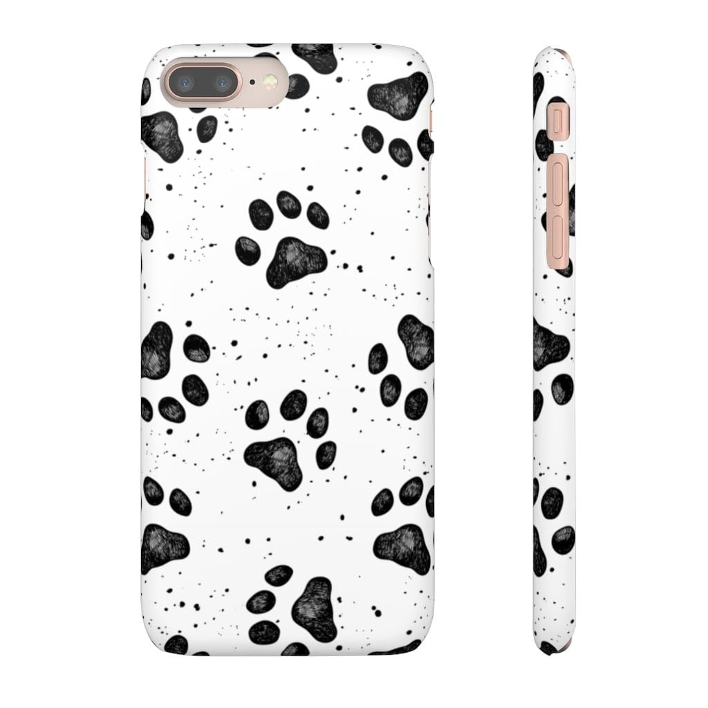 Printify Phone Case iPhone 8 Plus / Matte Paws IPhone Snap Case