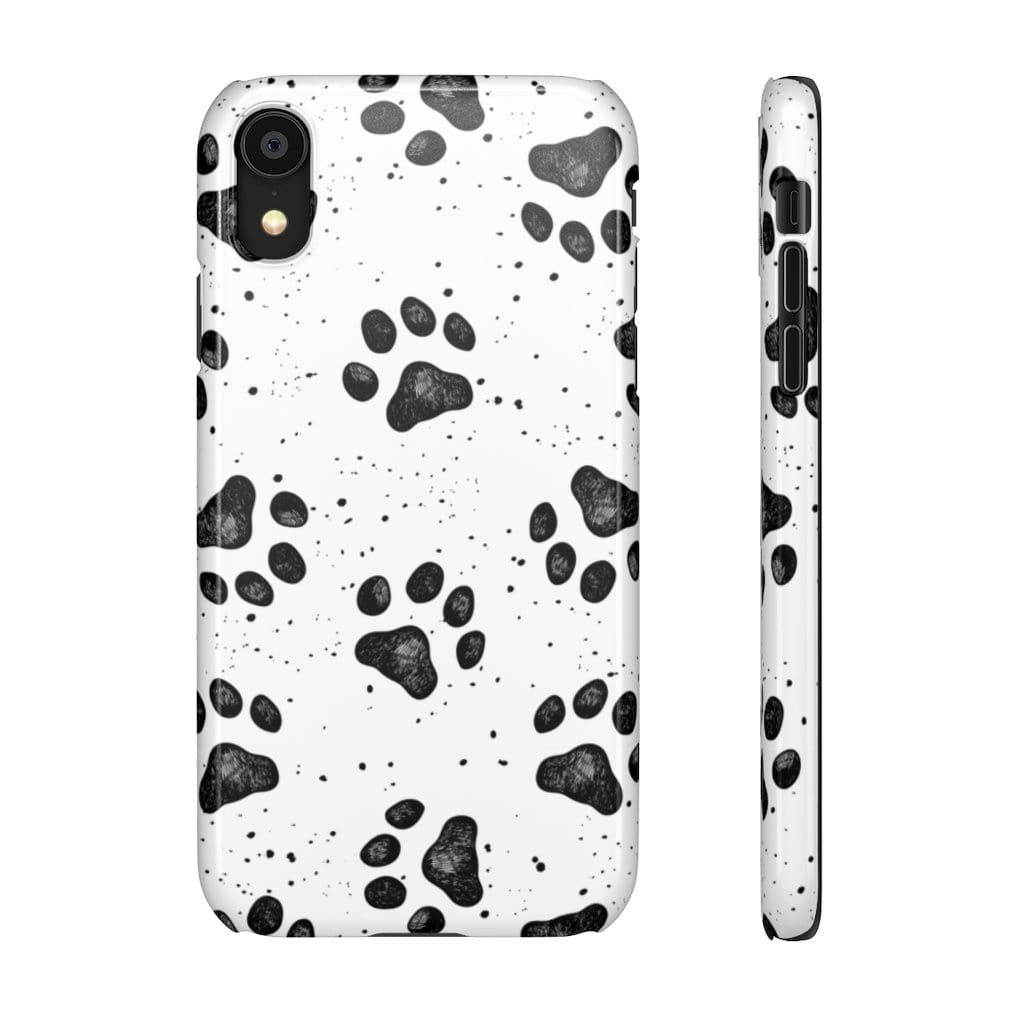 Printify Phone Case iPhone XR / Glossy Paws IPhone Snap Case