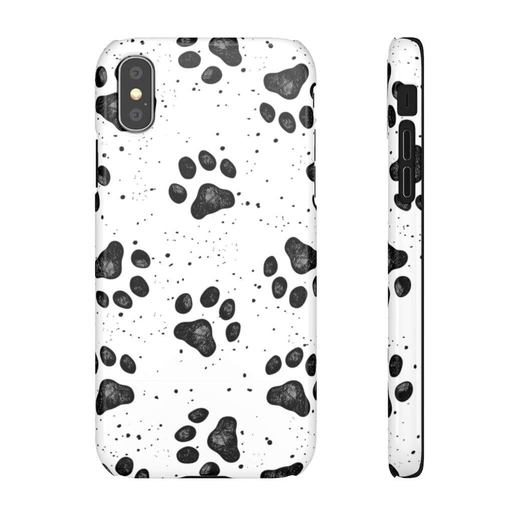 Printify Phone Case iPhone XS / Glossy Paws IPhone Snap Case