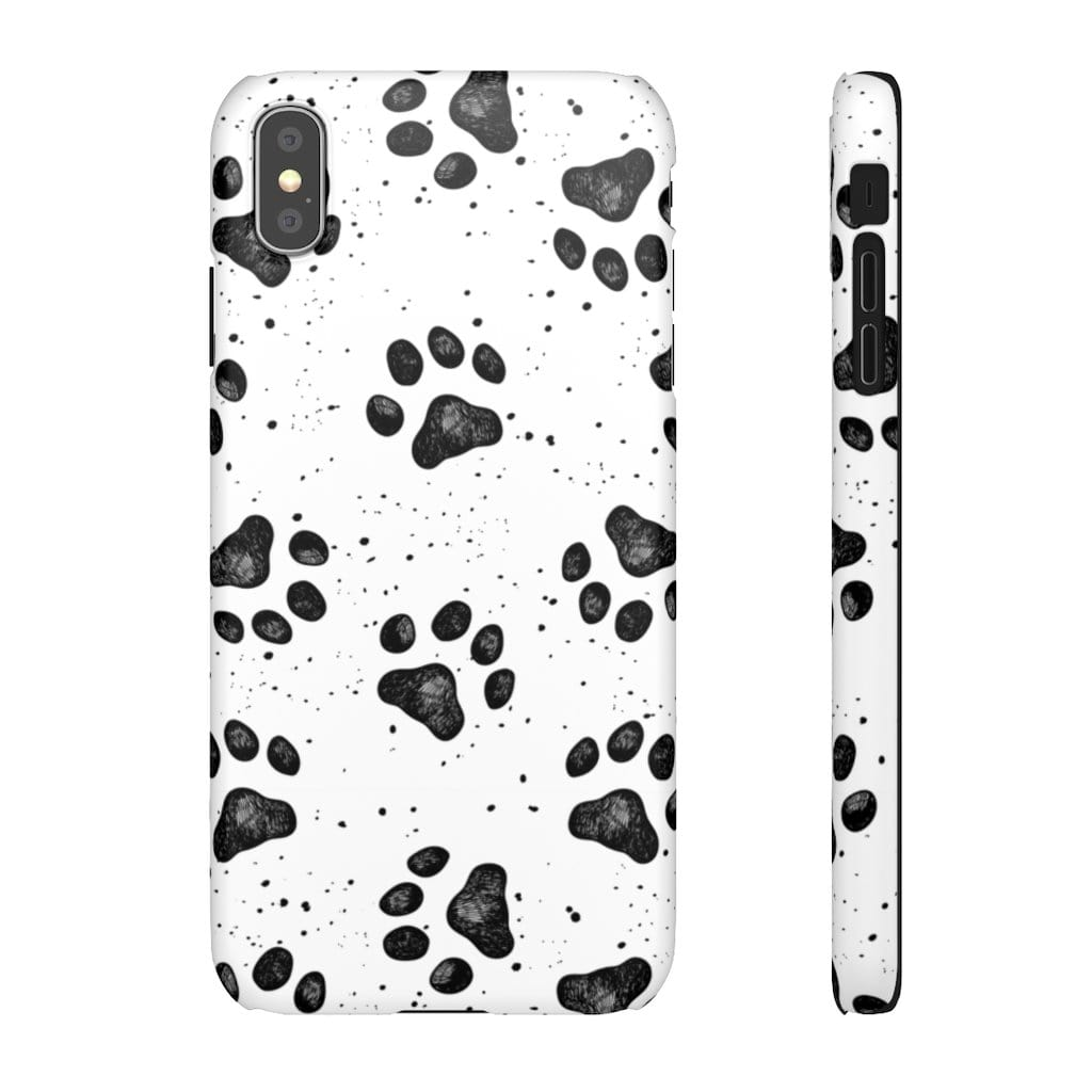 Printify Phone Case iPhone XS MAX / Matte Paws IPhone Snap Case