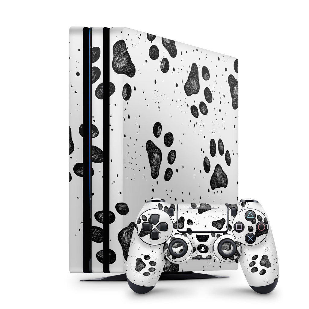 Decal Kings PlayStation 4 Skin PlayStation 4 Pro / Console + Controllers Paws PS4 Skin