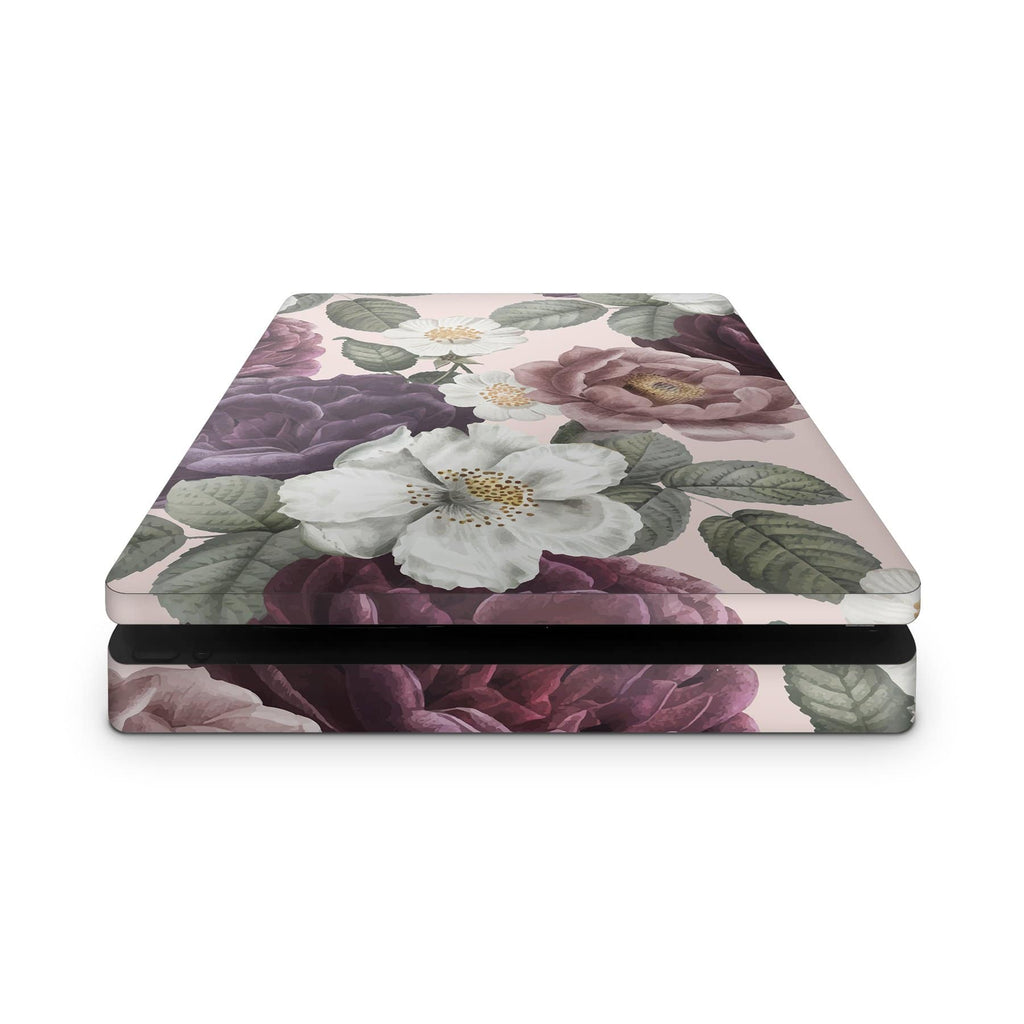 Decal Kings PlayStation 4 Skin Pink Flowers PS4 Skin