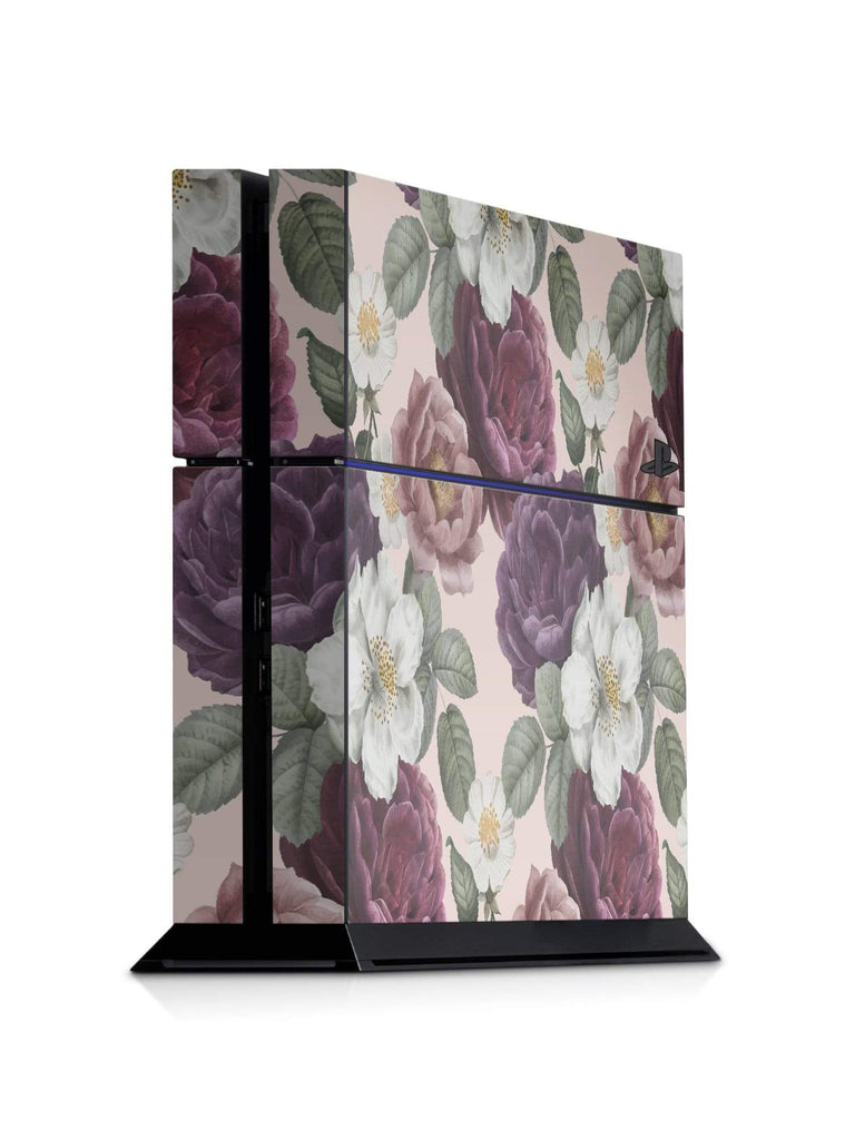 Decal Kings PlayStation 4 Skin PlayStation 4 / Console Pink Flowers PS4 Skin