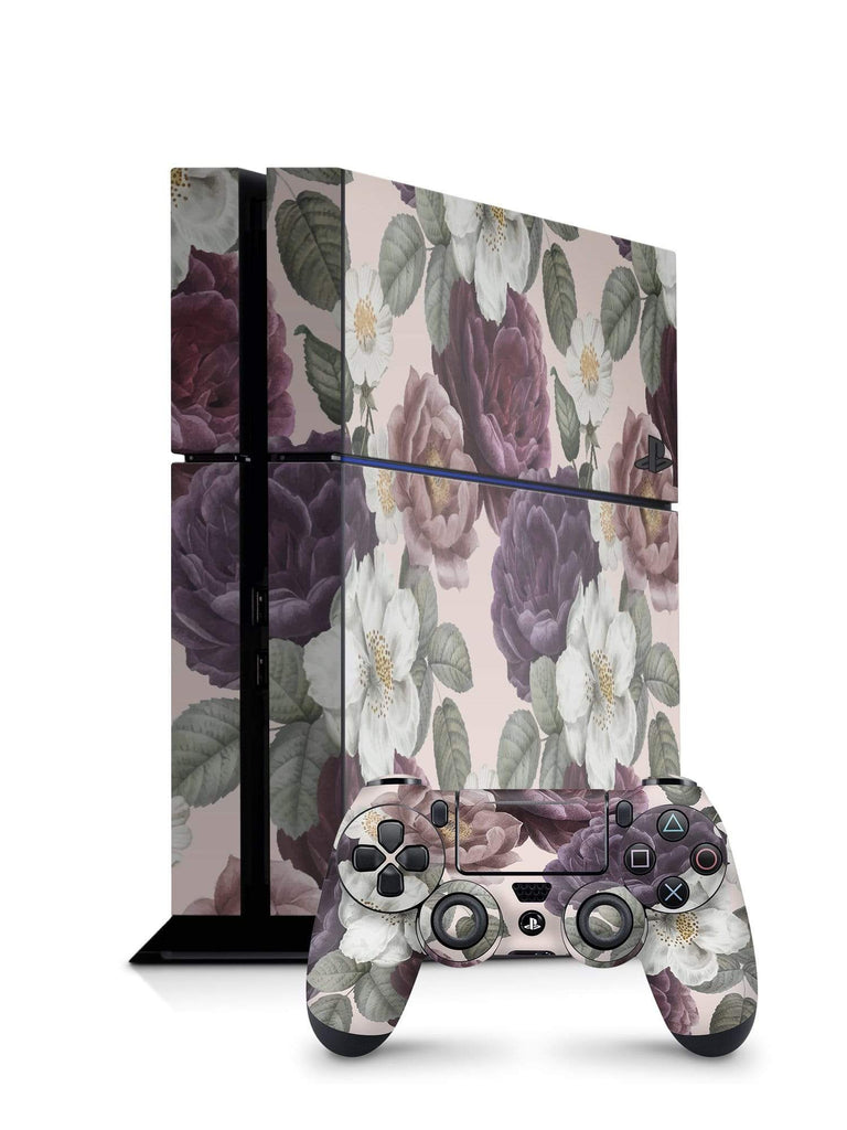 Decal Kings PlayStation 4 Skin PlayStation 4 / Console + Controllers Pink Flowers PS4 Skin