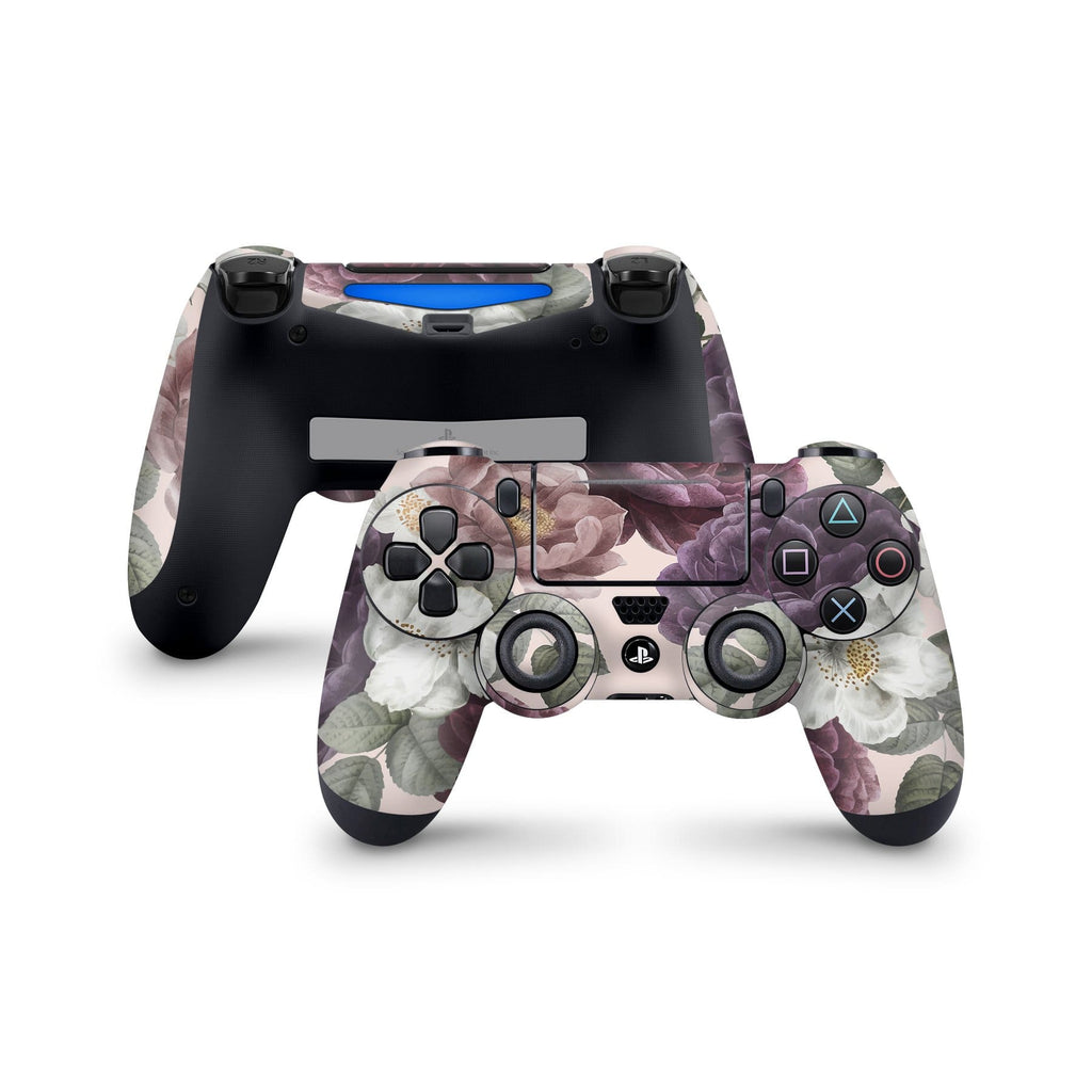 Decal Kings PlayStation 4 Skin PlayStation 4 / Controller Pink Flowers PS4 Skin