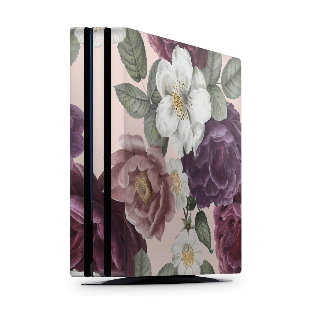 Decal Kings PlayStation 4 Skin PlayStation 4 Pro / Console Pink Flowers PS4 Skin