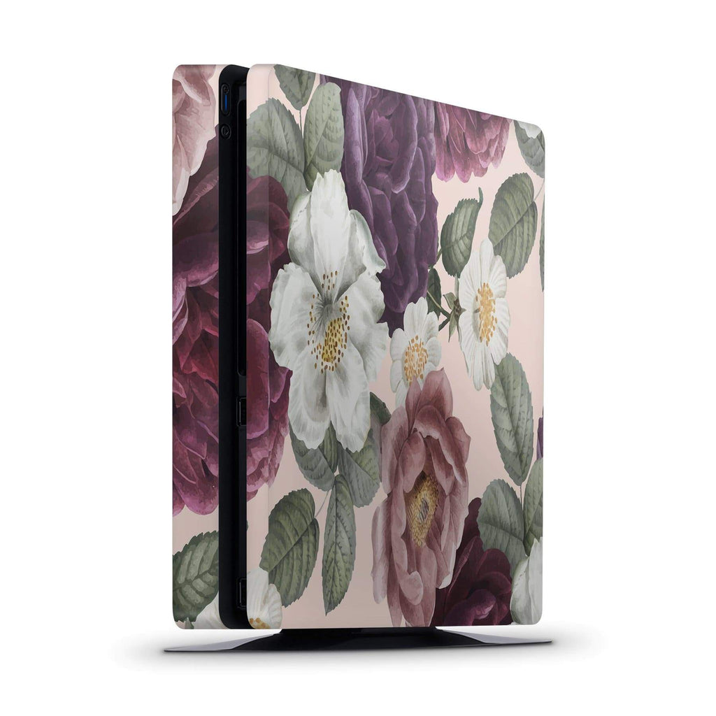 Decal Kings PlayStation 4 Skin PlayStation 4 Slim / Console Pink Flowers PS4 Skin