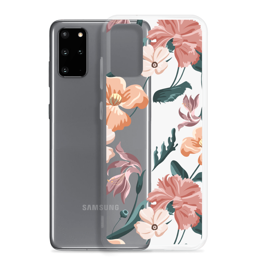 Decal Kings Pink Mix Flower Samsung Case
