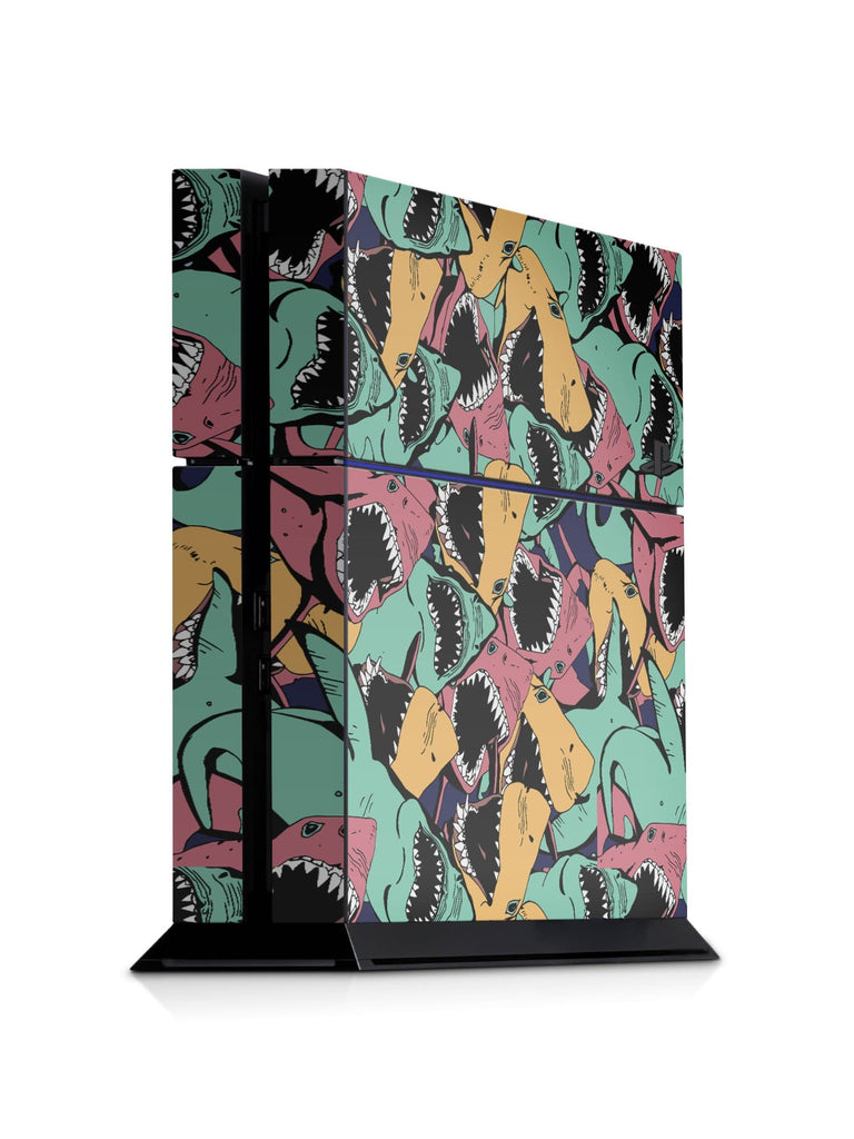 Decal Kings PlayStation 4 Skin PlayStation 4 / Console Sharks PS4 Skin