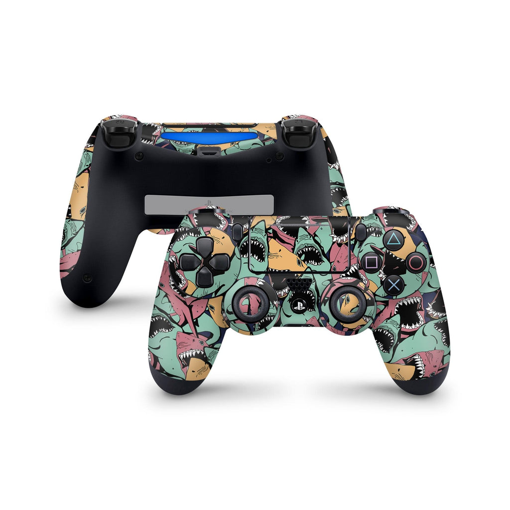 Decal Kings PlayStation 4 Skin PlayStation 4 / Controller Sharks PS4 Skin