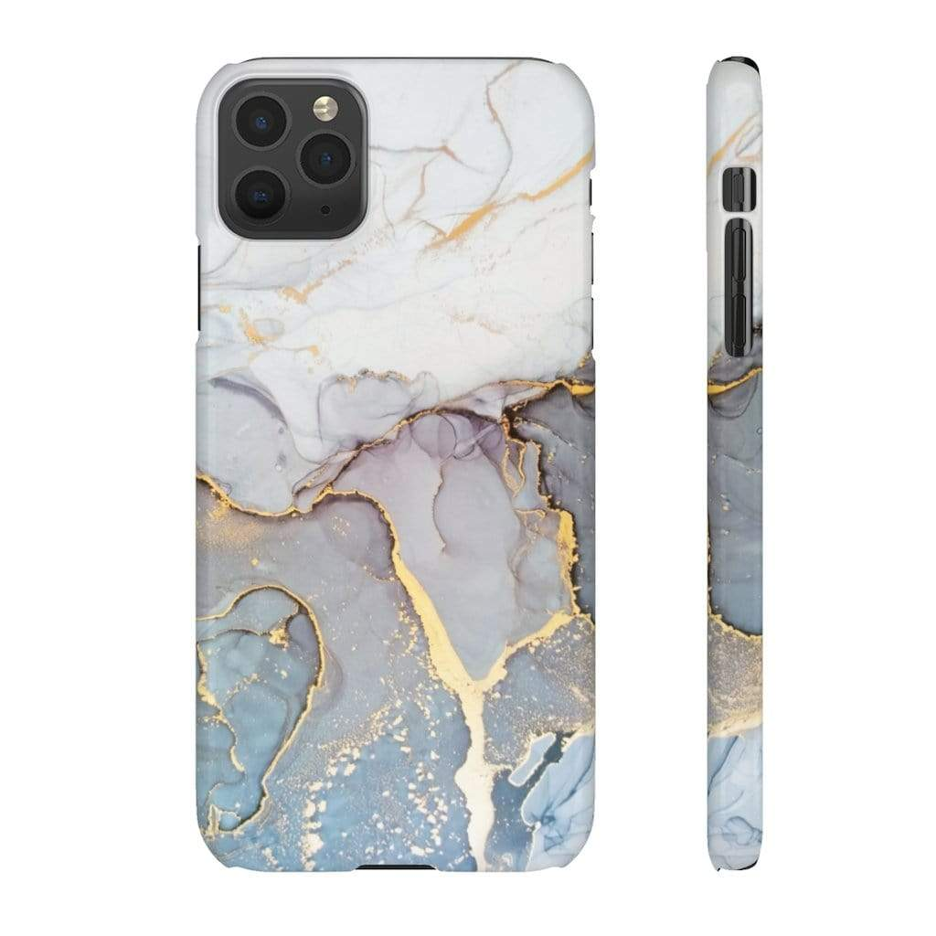Printify iPhone Case Smoky Marble IPhone Snap Cases