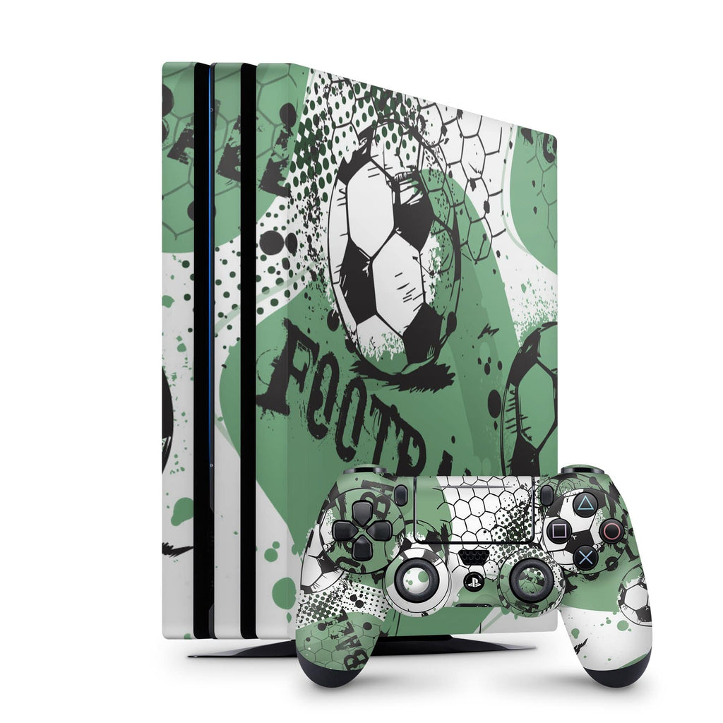 Decal Kings PlayStation 4 Skin PlayStation 4 Pro / Console + Controllers Soccer PS4 Skin