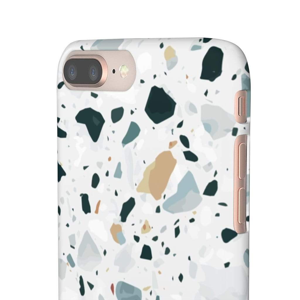 Printify iPhone Case Terrazzo IPhone Snap Cases