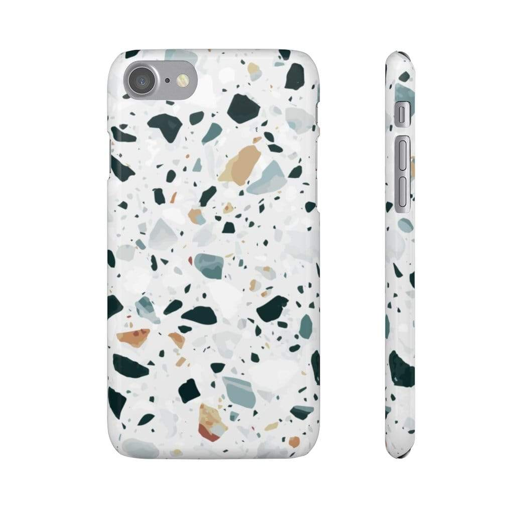 Printify iPhone Case iPhone 7 / Glossy Terrazzo IPhone Snap Cases
