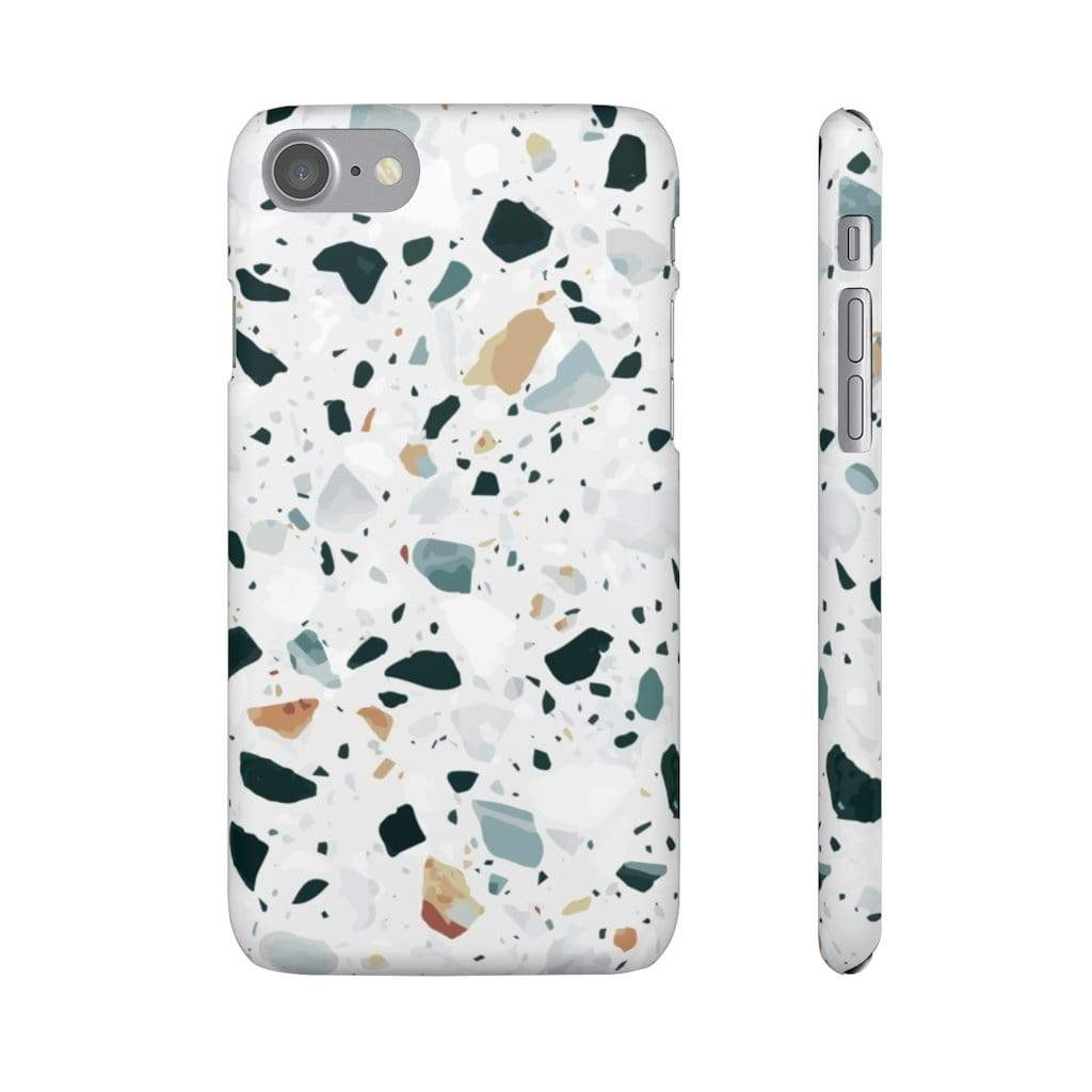 Printify iPhone Case iPhone 7 / Matte Terrazzo IPhone Snap Cases