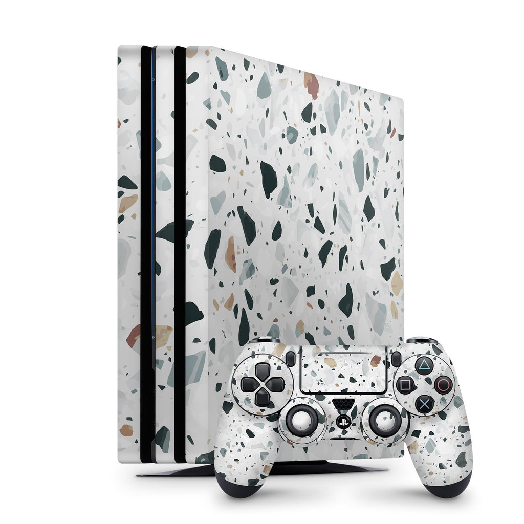Decal Kings PlayStation 4 Skin PlayStation 4 Pro / Console + Controllers Terrazzo PS4 Skin