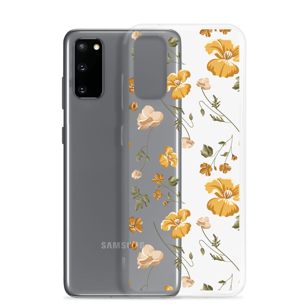 Decal Kings Yellow Mix Flower Samsung Case