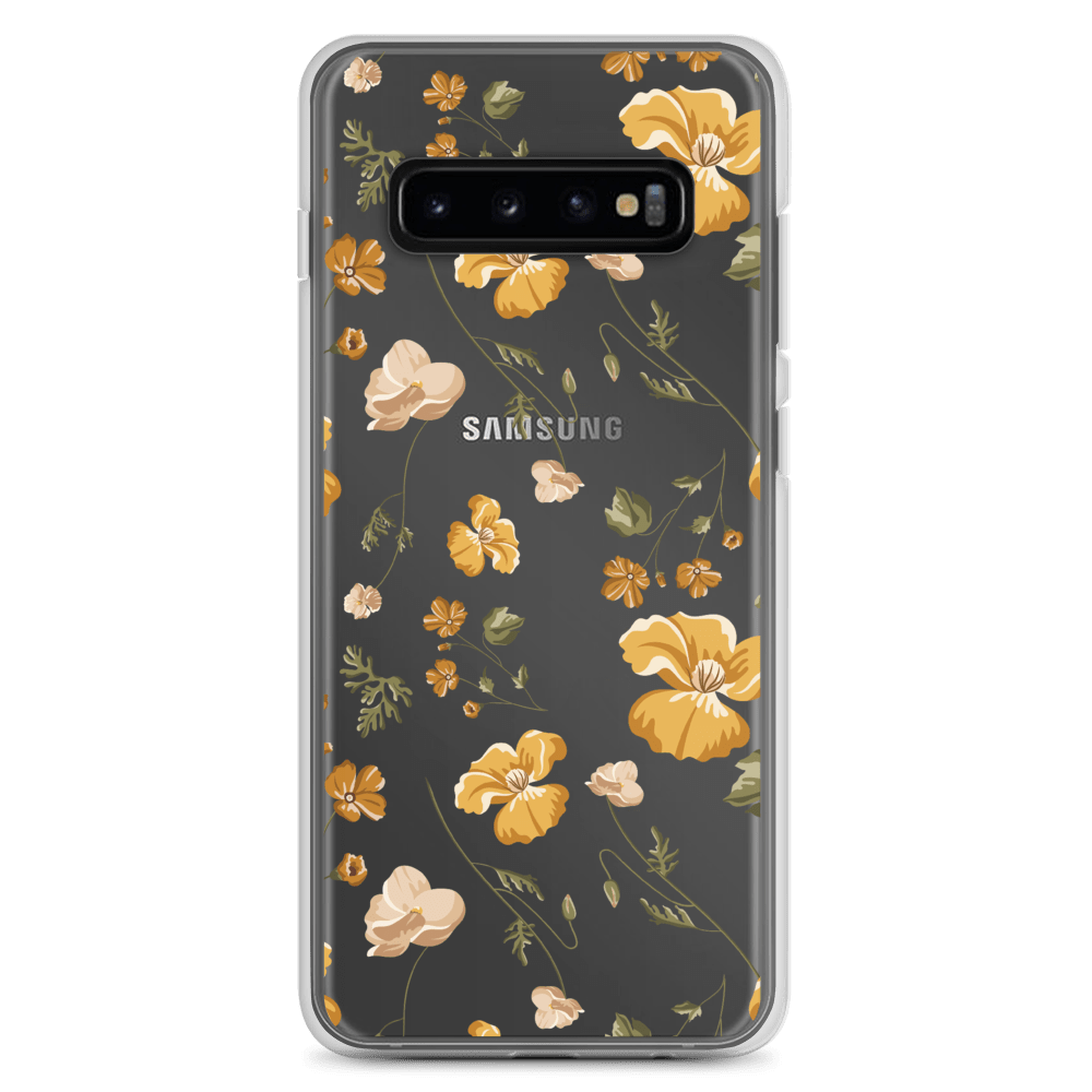 Decal Kings Samsung Galaxy S10+ Yellow Mix Flower Samsung Case