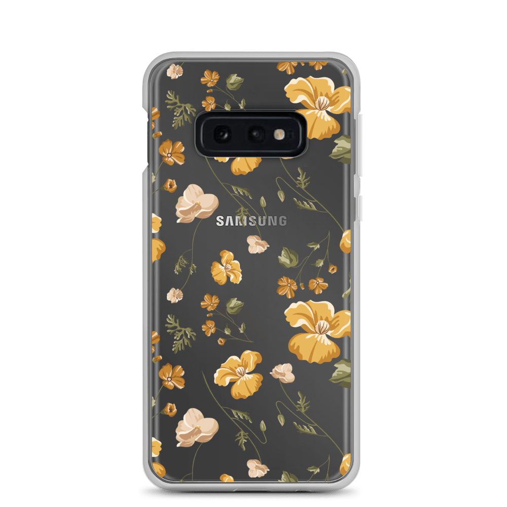 Decal Kings Samsung Galaxy S10e Yellow Mix Flower Samsung Case