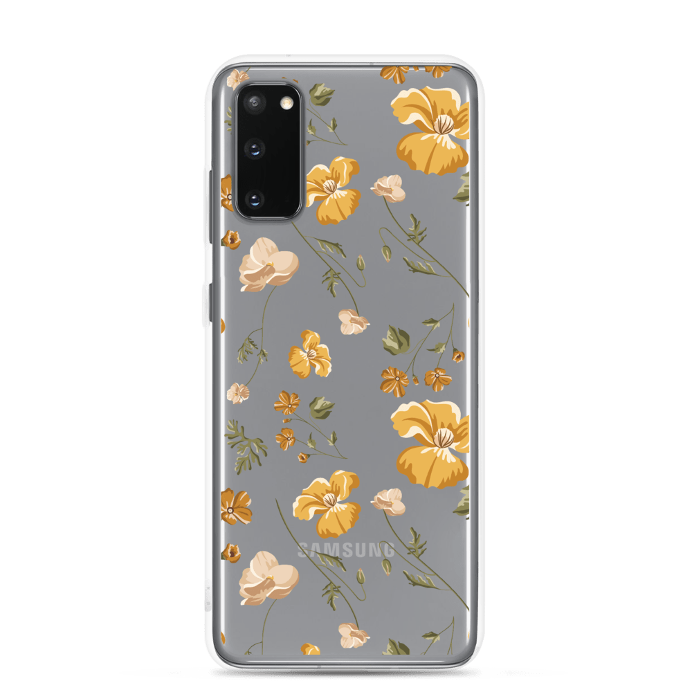 Decal Kings Samsung Galaxy S20 Yellow Mix Flower Samsung Case